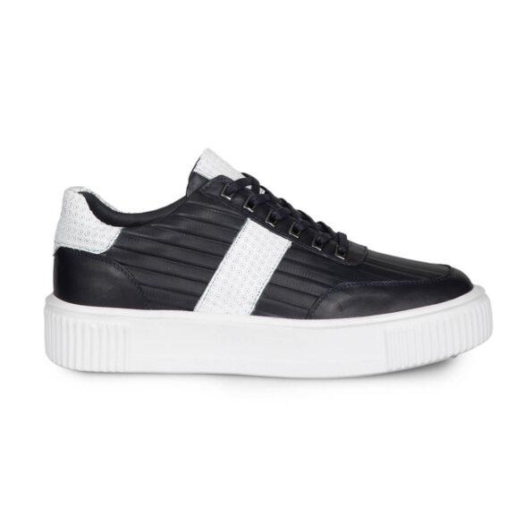 gianniarmando-sneaker-herren-schwarzweissstreifen-1