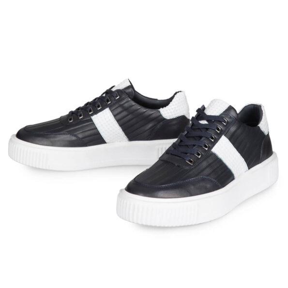 gianniarmando-sneaker-herren-schwarzweissstreifen-2
