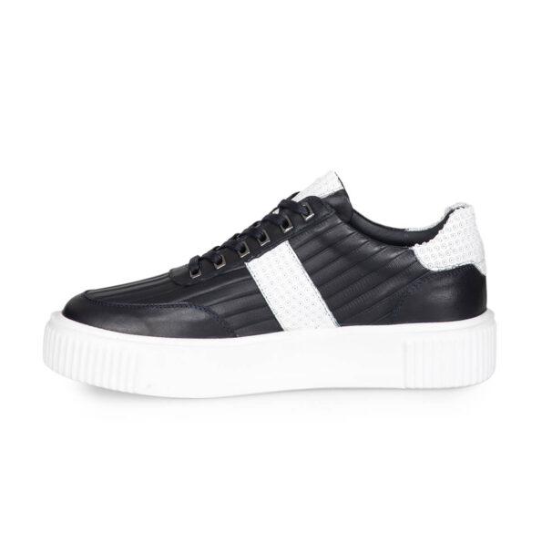 gianniarmando-sneaker-herren-schwarzweissstreifen-4