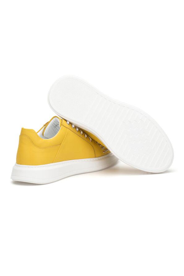 gianniarmando_herren_leder_sneakers_gelb_mit-niete_03