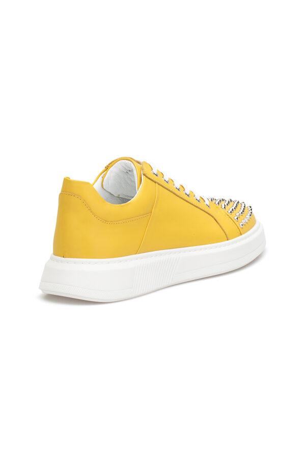 gianniarmando_herren_leder_sneakers_gelb_mit-niete_04