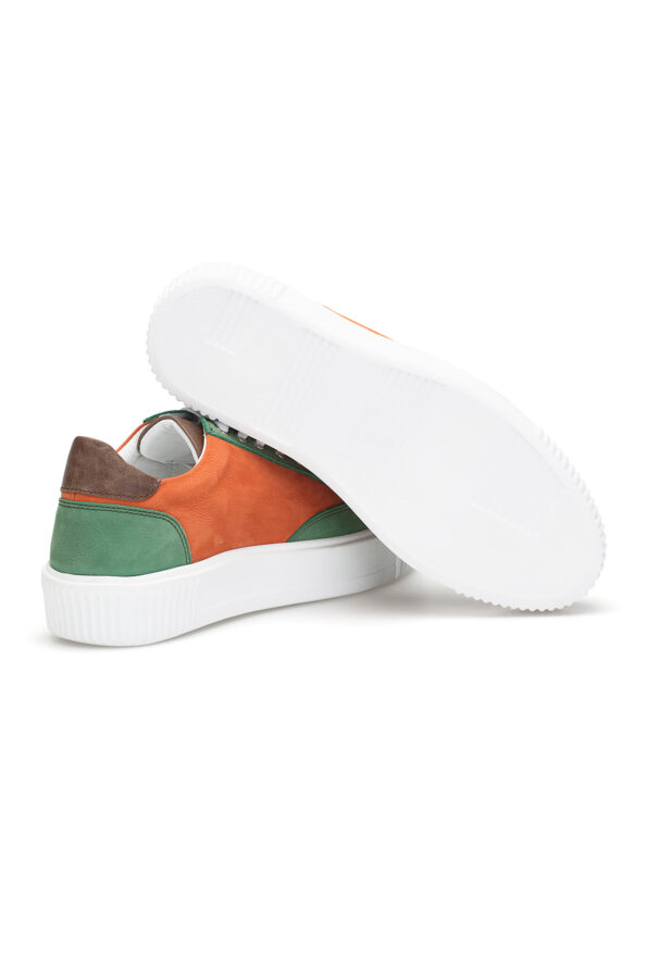 gianni&armando_herren_leder_sneakers_grun_orange_02