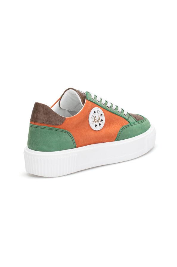 gianni&armando_herren_leder_sneakers_grun_orange_03