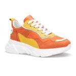 gianni&armando_herren_leder_sneakers_orange_gelb
