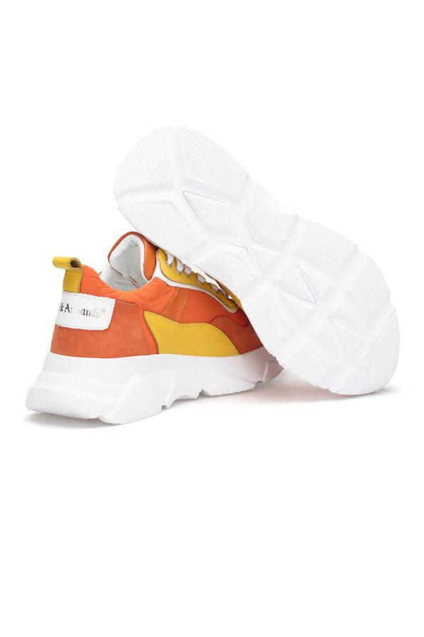 gianni&armando_herren_leder_sneakers_orange_gelb_03