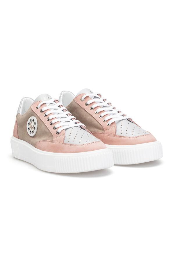 gianni&armando_herren_leder_sneakers_rosa_braun_grau_01