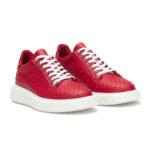 gianni&armando_herren_leder_sneakers_rot_rdex