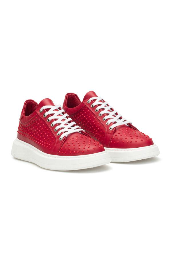 gianni&armando_herren_leder_sneakers_rot_rdex01