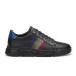 gianniarmando_herren_leder_sneakers_scwarz