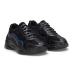 gianni&armando_herren_leder_sneakers_scwarz_ blue