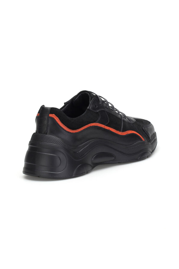gianni&armando_herren_leder_sneakers_scwarz_orange_03