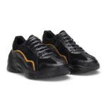 gianni&armando_herren_leder_sneakers_shwarz_gelb
