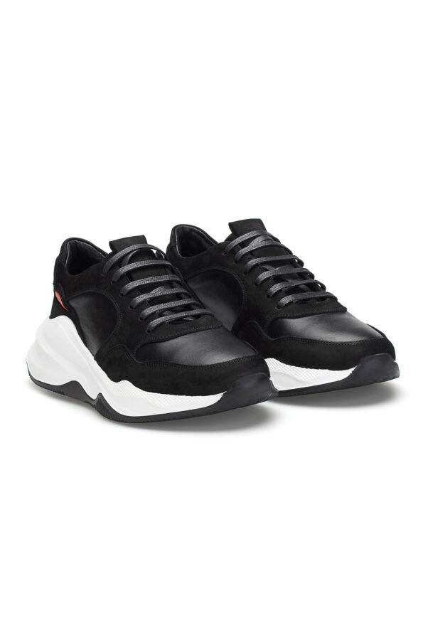 gianni&armando_herren_leder_sneakers_shwarz_orange01_01