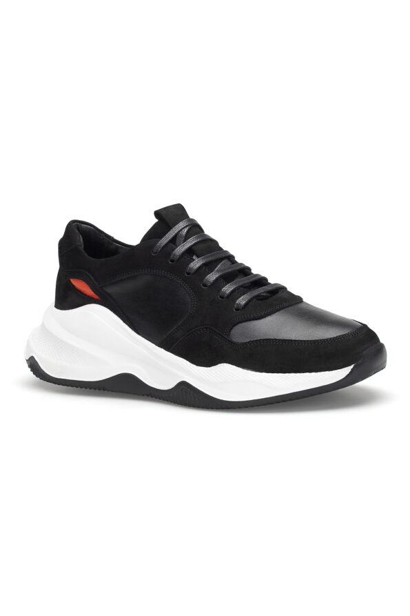 gianni&armando_herren_leder_sneakers_shwarz_orange01_04