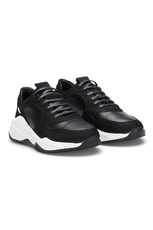 gianni&armando_herren_leder_sneakers_shwarz_weiss01_01