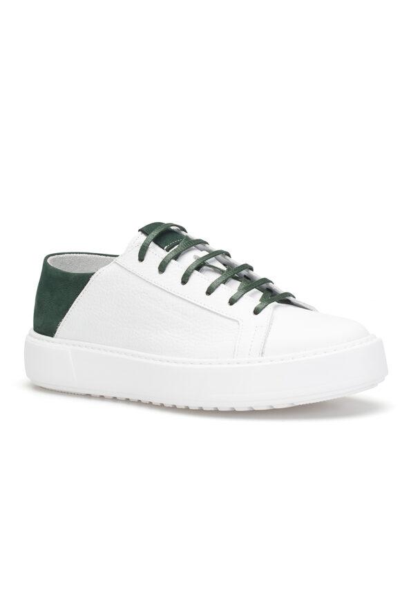 gianni&armando_herren_leder_sneakers_weiss_grun_04