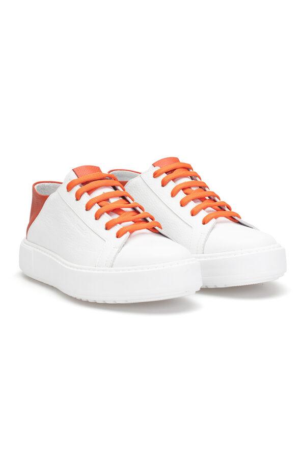 gianni&armando_herren_leder_sneakers_weiss_orange _01