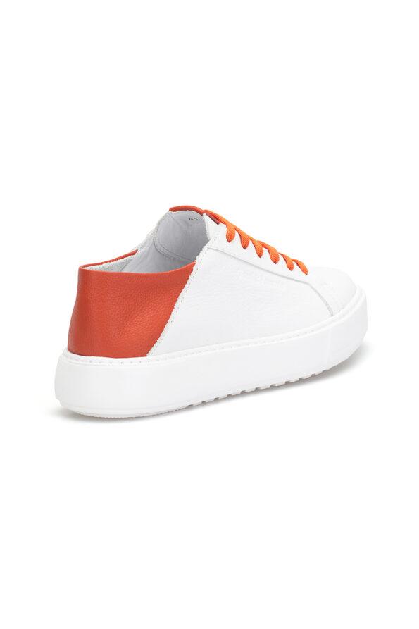 gianni&armando_herren_leder_sneakers_weiss_orange _03