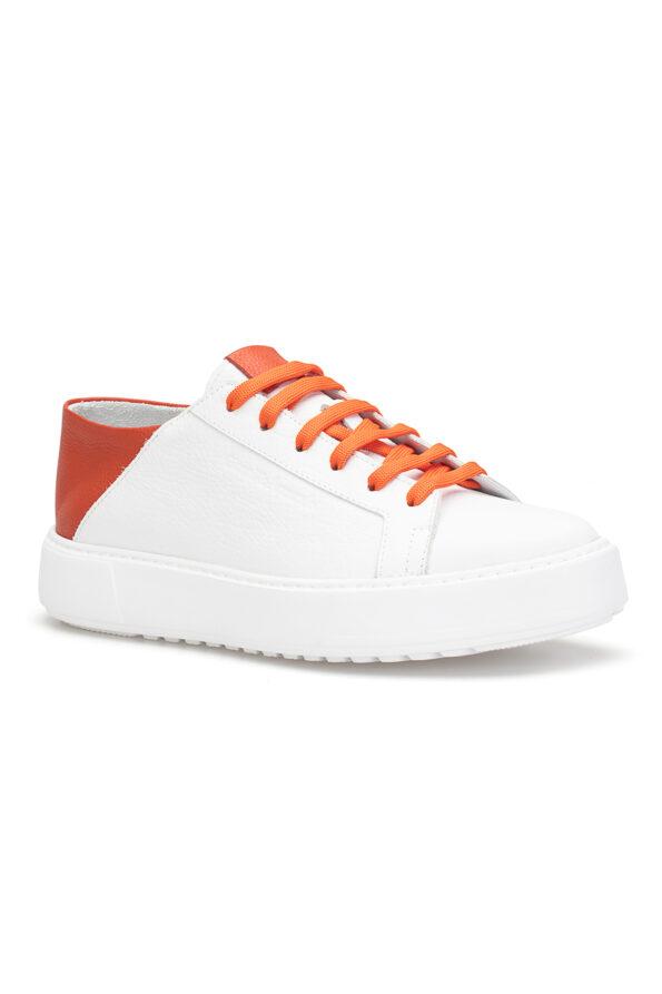 gianni&armando_herren_leder_sneakers_weiss_orange _04