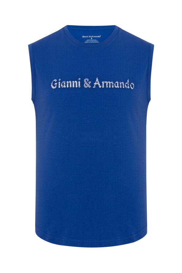 gianni_armando_designer_tshirt_armellos_blau