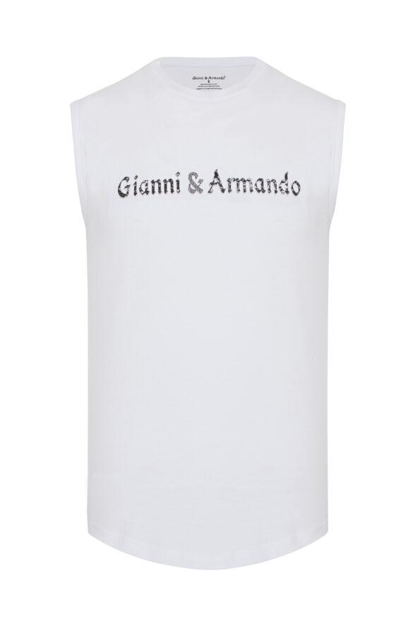 gianni_armando_designer_tshirt_armellos_weiss