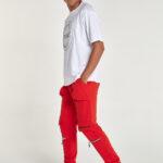gianni_armando_jogginghose_zipper_red