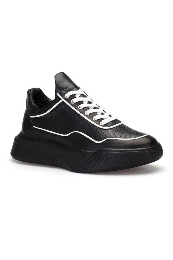 gianniarmando_herren_leder_sneakers_schwarz_weiss_01
