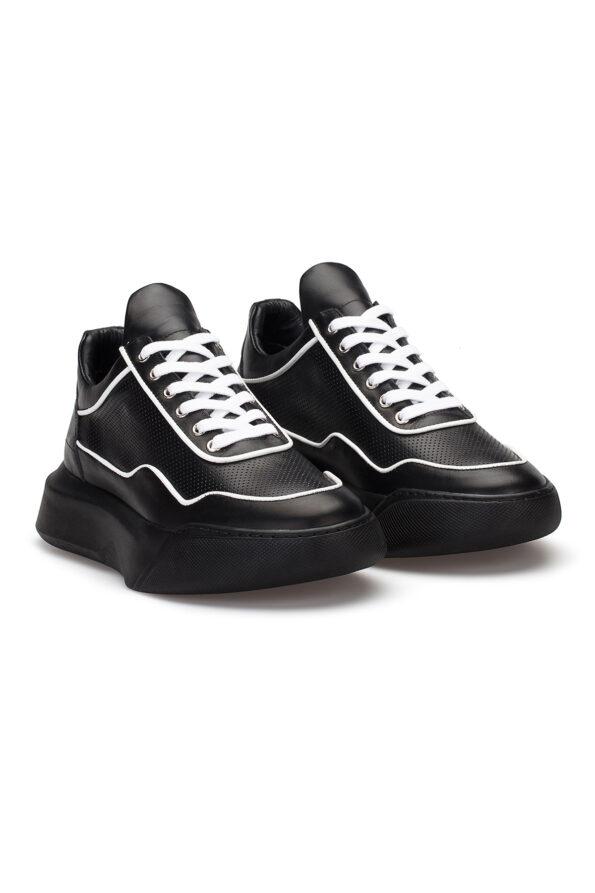 gianniarmando_herren_leder_sneakers_schwarz_weiss_02