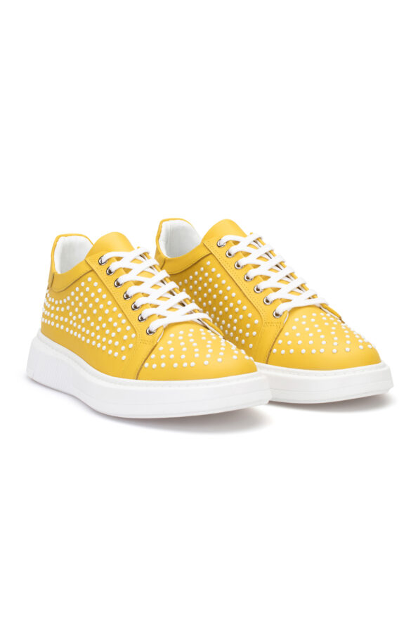 gianniarmando_herren_leder_sneakers_gelb_weiss_02