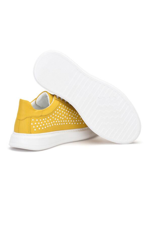 gianniarmando_herren_leder_sneakers_gelb_weiss_04