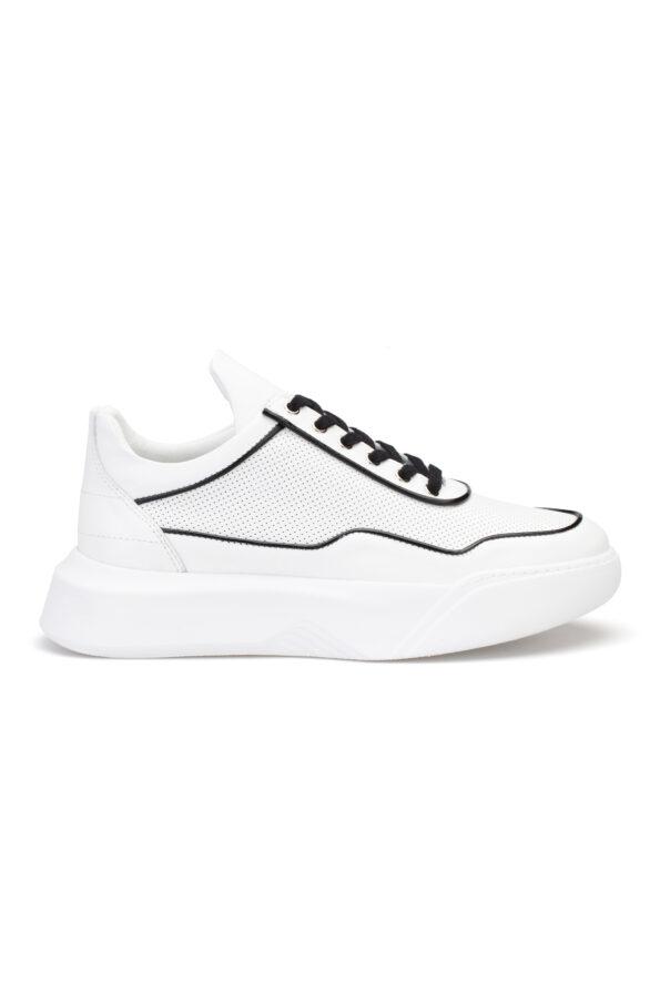 gianniarmando_herren_leder_sneakers_weiss_scwarz